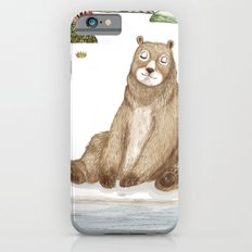 Mr.Brown is chilling by the river. iPhone 6s Slim Case