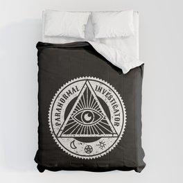 Paranormal Investigator Gift Ghost Hunter Halloween Comforters
