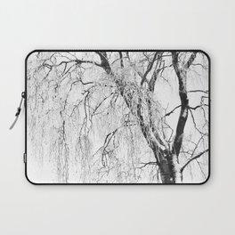 White snow tree Laptop Sleeve
