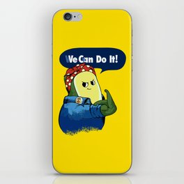 Vegan do It Avocado iPhone Skin