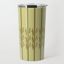 Exotic design bamboos Travel Mug