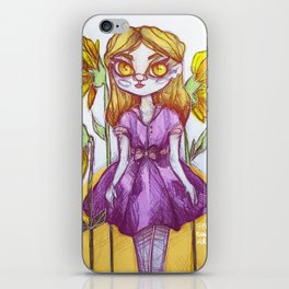 Sunflower Doll iPhone Skin