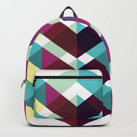 Geometric Pattern #4 (Zig Zag) Backpack