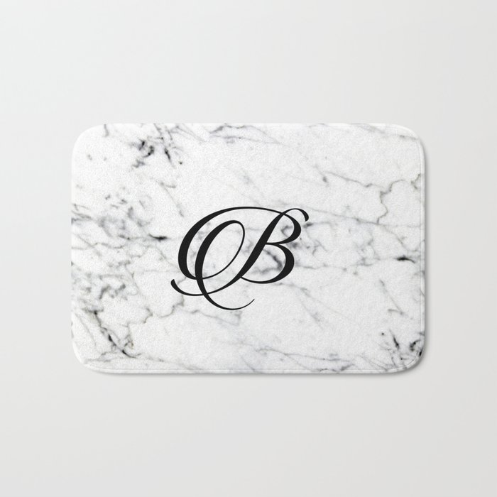 follow up letter letter b on marble texture initial personalized monogram 1230