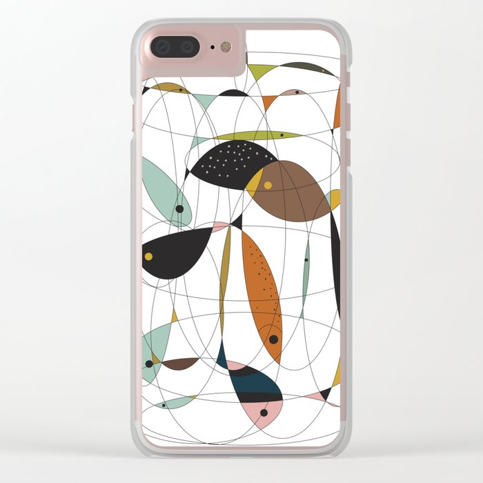 Fishing net Clear iPhone Case