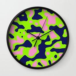 Camo 152 Wall Clock