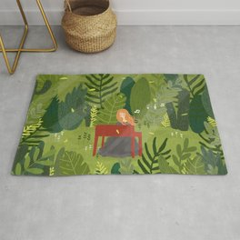 Melody and Forest Rug