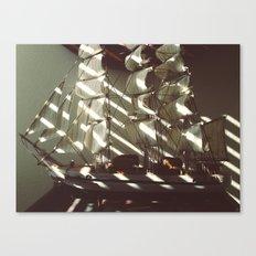 Wooden Ship Canvas Print