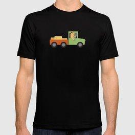 Horse on Truck T-shirt