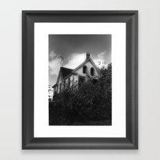 House but Not a Home Framed Art Print