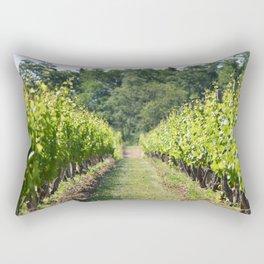 Vineyard Path Rectangular Pillow