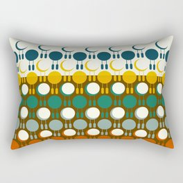24 Little hours Rectangular Pillow