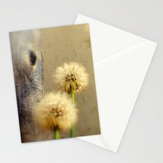 Tree Hugging Dandelions Stationery Cards