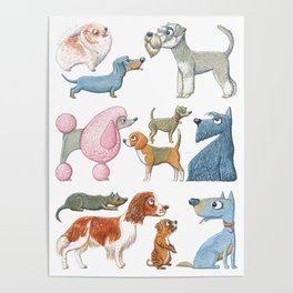 All About Dogs Poster