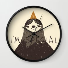 sloth(light) Wall Clock