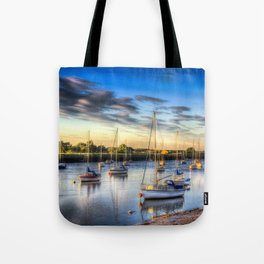 River at Sunset Tote Bag