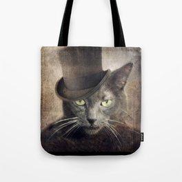 Captain Grey Tote Bag