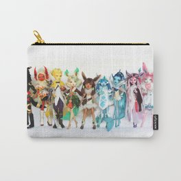 Eeveelution Dolls Carry-All Pouch