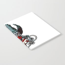 Gamer Skull -  Bermuda Grey Notebook