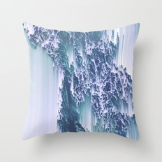 Comes and goes (in waves) Throw Pillow