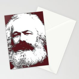 Karl Marx Stationery Cards