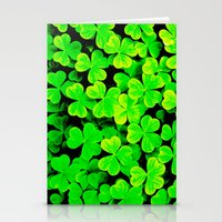 clover Stationery Cards featuring CLOVER by Ylenia Pizzetti