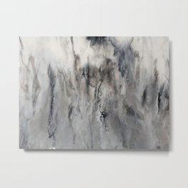 Smoke and Mirrors Metal Print