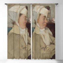 Edgar Degas - Woman with a Bandage Blackout Curtain