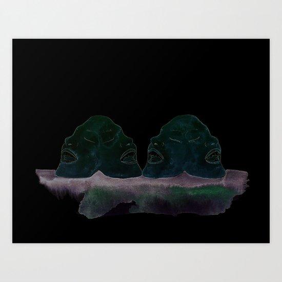 Acapella Art Print