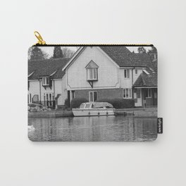 Vacation on the River Bure, Wroxham Carry-All Pouch