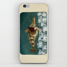 The Ice Fish Cometh iPhone & iPod Skin