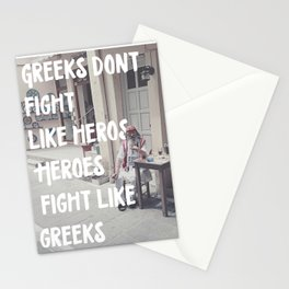 Greeks Quotes Stationery Cards