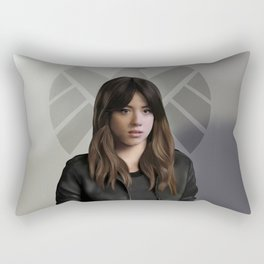 Agent Skye Rectangular Pillow