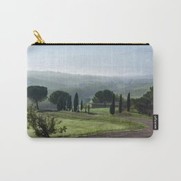Panoramic view of Val d'Orcia, Tuscany, Italy Carry-All Pouch