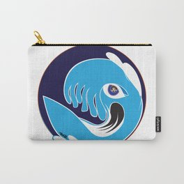Waveboarder Smiley Carry-All Pouch