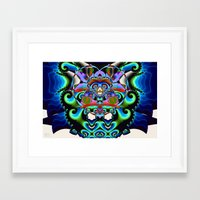 hindu Framed Art Prints featuring Shiva (Hindu) by Jim Pavelle