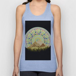 Disc Nature Unisex Tank Top