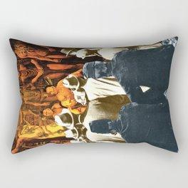 History Lost But Not Forgotten Rectangular Pillow