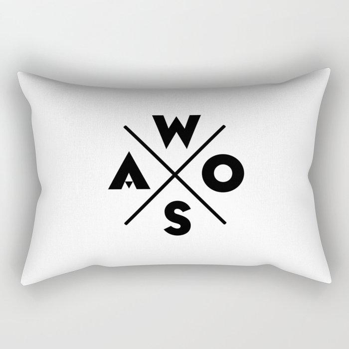 WOSA - World of Street Art Rectangular Pillow