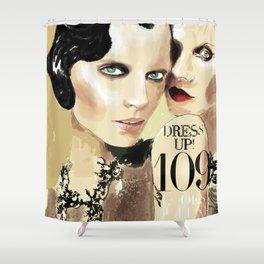DRESS UP! 109 Shower Curtain