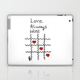 Love always wins Laptop & iPad Skin