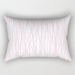 pin(k)stripes Rectangular Pillow