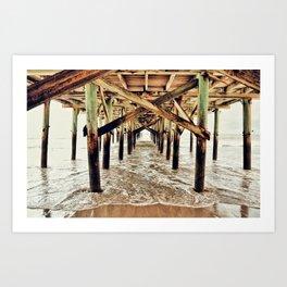 Piers Art Print