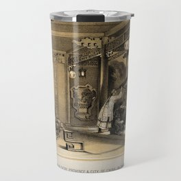 The ceremonies observe in every province and city of China, on the occasion of an eclipse Travel Mug