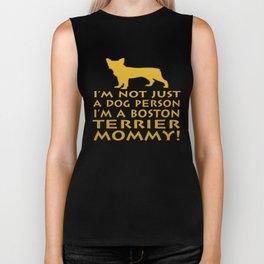 I'm a Boston Terrier Mommy! Biker Tank