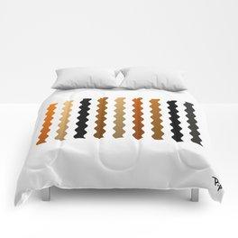 Metal Waves Comforters