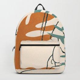 Minimal Line in Nature III Backpack