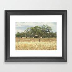 Thatched Barn Framed Art Print