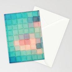 Polaroid Pixels VI (Crabapple) Stationery Cards