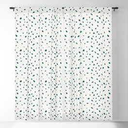 Pebble Stone Terrazzo Blackout Curtain